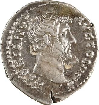 Hadrien, denier, Rome, 134-138