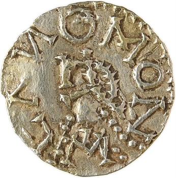 Austrasie, Moriville ? (Vosges [Villa Maorin]), Lano monétaire ? ou imitation ?, trémissis, c.650