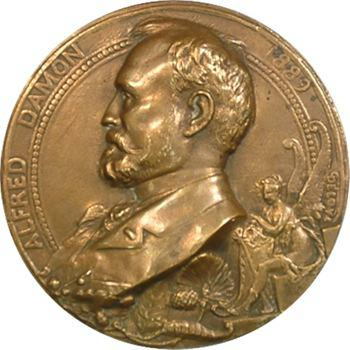 IIIe République, Alfred Damon par Deloye, 1889 Paris
