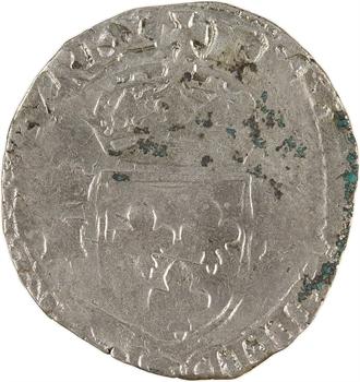 Henri IV, douzain aux 2 H couronnées, 3e type, 1593 Sisteron