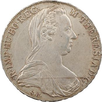 Autriche, Marie-Thérèse, thaler, 1780 Günzburg