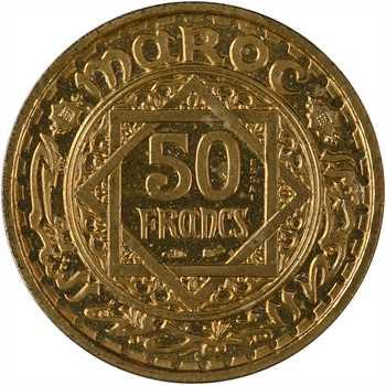 Maroc, Mohammed V, essai de 50 francs, AH 1371 (1952) Paris