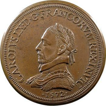 Charles IX, Saint-Barthélémy, 1572 (refrappe XIXe s.)