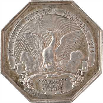 Louis-Philippe Ier, compagnie d'assurances Phénix, par Feart, 1844 Paris