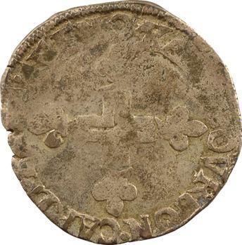 Comtat Venaissin, Sixte V, double sol parisis, 1588 Carpentras