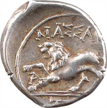 Marseille, drachme légère ou tétrobole MASSALIHTWN, c.130-121 av. J.-C.