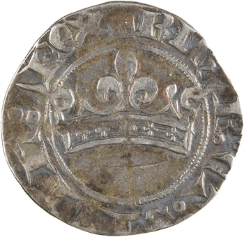Provence (comté de), Robert d'Anjou, provençal coronat d'argent, s.d. (1309-1443)