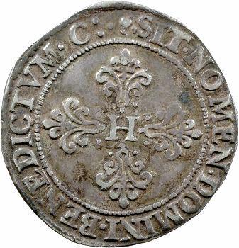 Henri III, franc au col fraisé, 1579 Toulouse