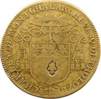 Languedoc, Toulouse, Charles de Montchal, archevêque, 1647