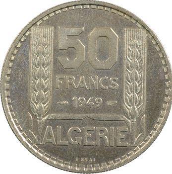 Algérie, essai de 50 francs, 1949 Paris