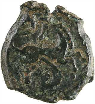 Pictons, bronze au cheval retourné, c.80-60 av. J.-C