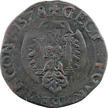 Franche-Comté, Besançon, jeton des services de comptes de la cité, 1578