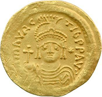 Maurice Tibère, solidus, Constantinople, 583-601