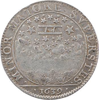 Dombes (principauté de), Gaston d'Orléans, frère du Roi, 1639 Trévoux
