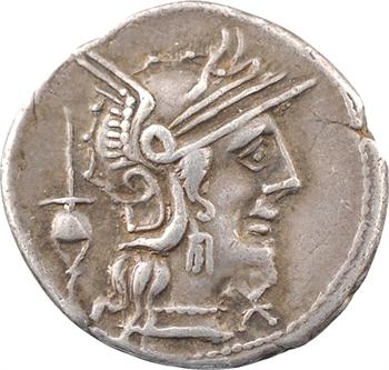 Postumia, denier, Rome, 131 av. J.-C
