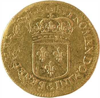 Louis XIV, louis d'or à l'écu, réformation, 169? atelier indéterminé