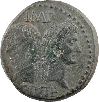 Nîmes, Auguste et Agrippa, as, Nîmes, c.9-3 av. J.-C.