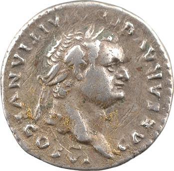 Domitien César, denier, Rome, 79