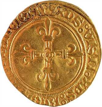 Charles VIII, écu d'or du Dauphiné, Romans