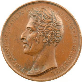 Charles X, visite à la Bourse de Paris, 1824 Paris