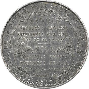 Second Empire, vote pour l'annexion de la Savoie et de Nice, 1860 Paris