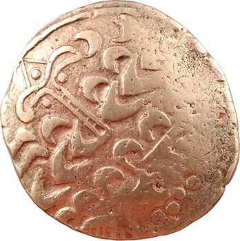 Leuques, statère au cheval tournant la tête, classe II à la lyre, II-Ier s. av. J.-C.