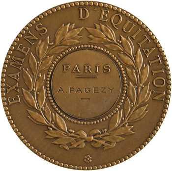 Équitation, Société hippique française, examens d'équitation, par Alphée Dubois, 1939 Paris