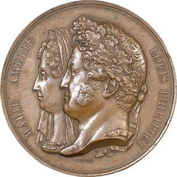 Louis-Philippe Ier, Musée monétaire par Petit, 1833