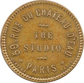 IIIe République, jeton de maison close, The Studio (Paris), s.d