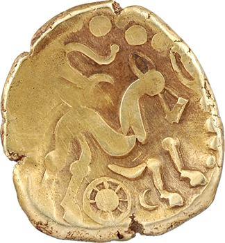 Suessions, statère d'or à l'ancre, c.65-35 av. J.-C.