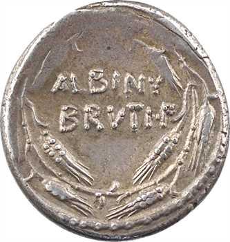 Postumia, denier, Rome, 48 av. J.-C.