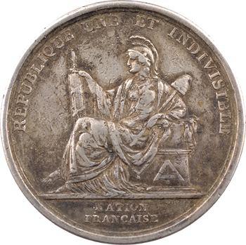 Convention, la Constitution républicaine, par Duvivier, 1793 Paris – 44