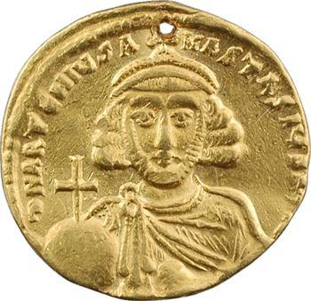 Anastase II Artémius, solidus, Constantinople, 10e officine, 713-715
