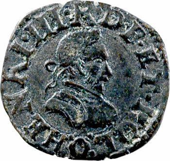 Henri III, denier tournois, 1581 Poitiers