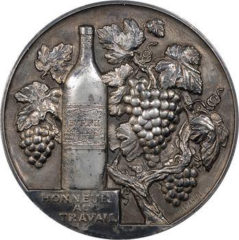 Bétannier (R.) : médaille du travail des caves Byrrh, vin apéritif, 1926 Paris