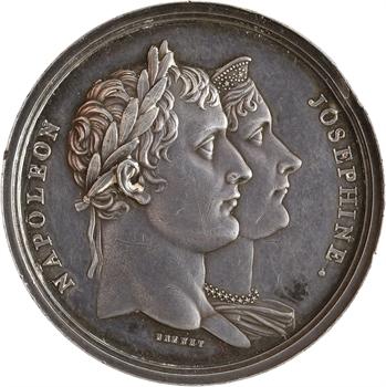 Premier Empire, fêtes du couronnement, par Brenet, An XIII (1804) Paris