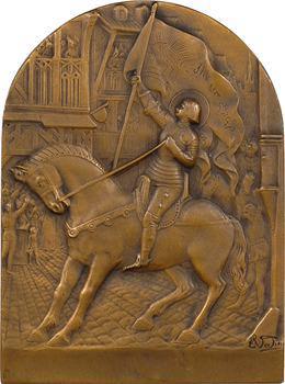 IIIe République, Jeanne d'Arc à Orléans, par Vedan (?), s.d. Paris