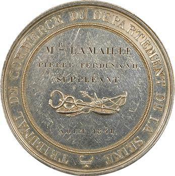 Louis-Philippe Ier, Tribunal de Commerce de la Seine, par Barre, 1841 Paris