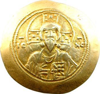 Michel VII, histamenon scyphate, Constantinople, 1071-1078