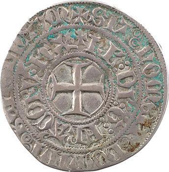 Charles VI, gros aux lis sous une couronne, Châlons-en-Champagne