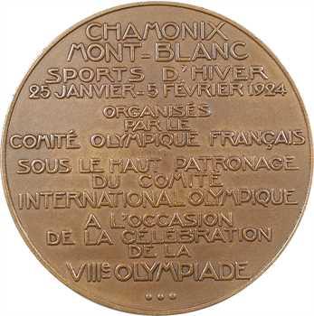 Bénard (R.) : VIIIe olympiades de Chamonix, 1924 Paris