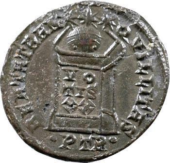 Crispus, nummus, Trèves, 322-323