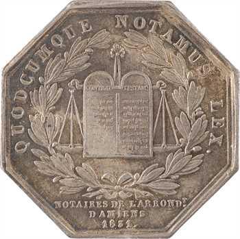 Louis-Philippe Ier, les notaires d'Amiens, par Coquardon, 1831 Paris