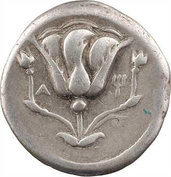 Carie, Rhodes, didrachme, 305-275 av. J.-C.