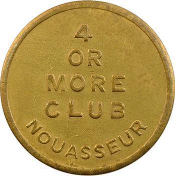 Maroc, Armée des États-Unis, 5 [cents], 4 OR MORE CLUB à Nouasseur, s.d