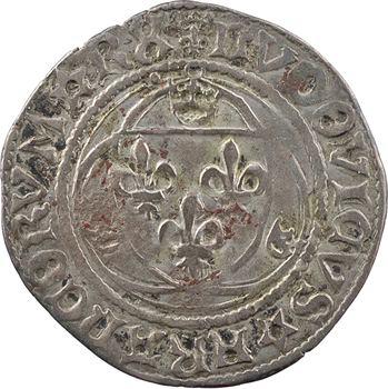 Louis XII, grand blanc à la couronne (RX ; BENEDITVM), cantonnement inversé, Châlons-en-Champagne