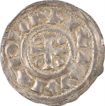 Normandie (duché de), Richard Ier, denier au monogramme, s.d. (943-996) Rouen