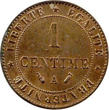 IIIe République, 1 centime Cérès, 1892 Paris