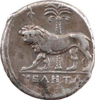 Lucanie, didrachme ou nomos, Vélia, c.300-280 av. J.-C.
