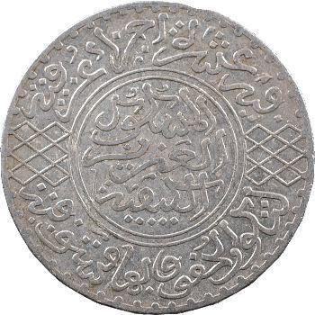 Maroc, Abdül Aziz I, 5 dirhams, AH 1322 (1904) Paris
